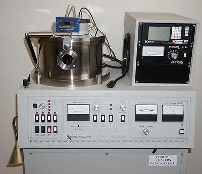 Denton Vacuum Dv502a Dc Sputtering System