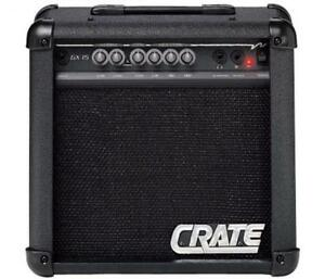 Amplificateur de guitare Crate GX15 (i024120)