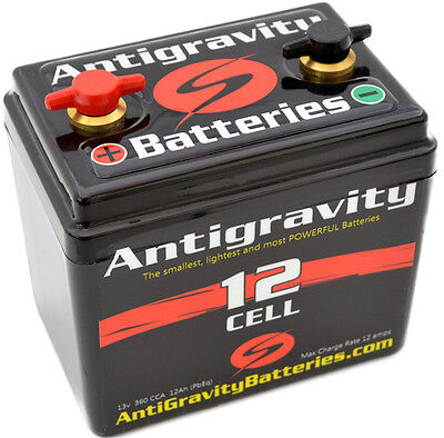 09-11 Buell 1125 Race Antigravity 12-cell Small Case Motorcycle Battery
