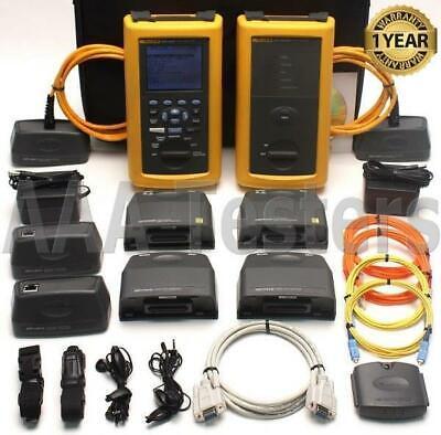 Fluke Dsp-4000 Cat6 Sm Mm Fiber Cable Tester Dsp-fta430 Dsp-fta410 Fta430 Fta410