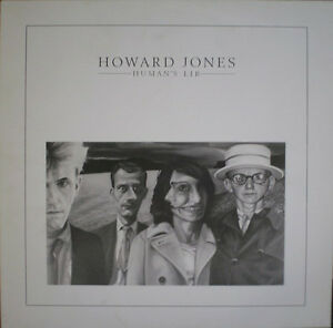HOWARD JONES, Human's Lib Electronic, 1984 vinyl records LP