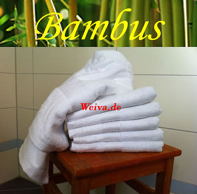 Bambus Handtuch / Handtücher 600 g/m² Badetuch Handtuchset Saunatuch Waschlappen