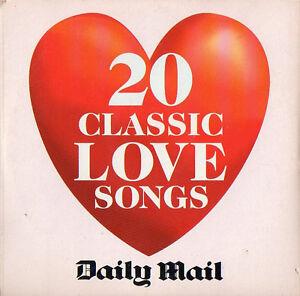 20 CLASSIC LOVE SONGS - PROMO CD (2001) MOODY BLUES, BONNIE TYLER, DR HOOK, 10CC