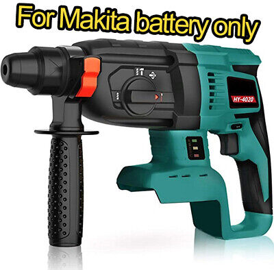 New For Makita Dhr242 18v Cordless Sds Plus Rechargeable Rotary Hammer Drill Us