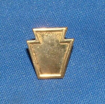 SpanAm WW1  Pennsylvania National Guard  PA NG Officers Gilt Keystone Pin