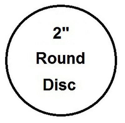 2 Round Aluminum Insert Sublimation Award And Trophy Disc- Lot Of 1000pcs