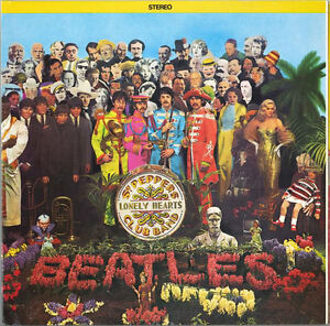 Beatles Sgt. Peppers Lonely Hearts Club Band (Grey marble vinyl)