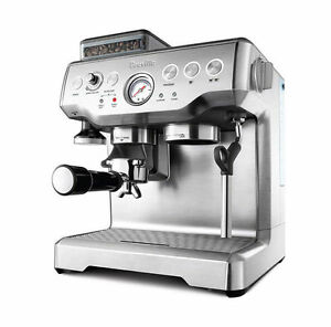 Breville The Barista Express Bes870 8 Cups Coffee Espresso Combo Silver