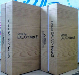 Samsung Galaxy Note 3 in a Box with all the Accessories - SIM FREE UNLOCKED To All Networks