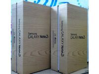 Samsung Galaxy Note 3 White in a Box with all the Accessories - SIM FREE UNLOCKED