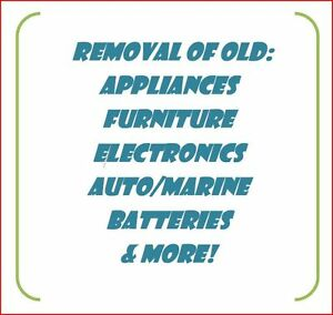 Old Furniture/Appliance Haul Away Service