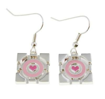 Portal Companion Cube Earrings - Portal Companion Cube