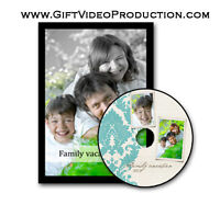 DVD movie from old home videos, photos