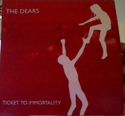 The Dears Ticket to immortality white vinyl 7""
