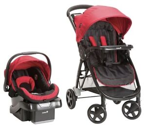 Car seat, base and stroller for sale