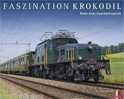 Fachbuch Faszination Krokodil, Eisenbahnlegende, tolles Buch mit vielen Bildern