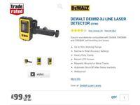 Dewalt laser level detector, brand new no box