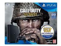 PS4 500gb Call of Duty WW2