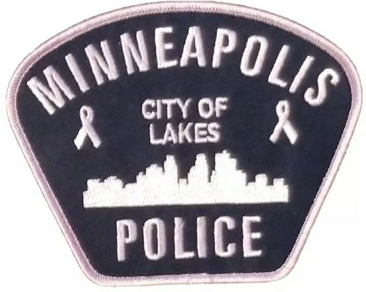 Minneapolis Police Department Breast Cancer Awareness Patch - Pink