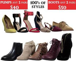 Womens Designer Brands Shoe Clearance Sale Minto Campbelltown Area Preview
