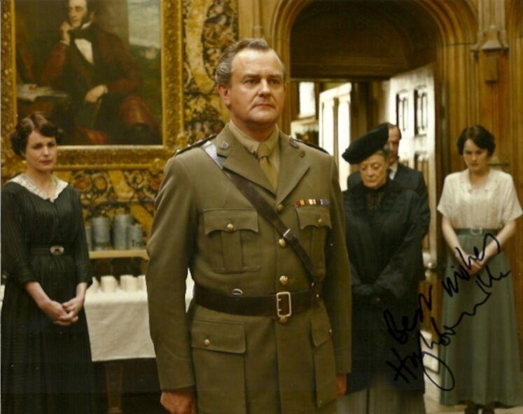 Downton Abbey Hugh Bonneville Autographed Signed 8x10 Photo COA