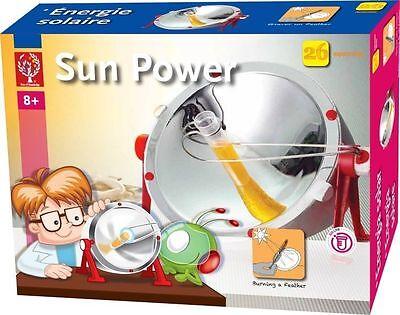 "Solar Set ""Sun Power"" Kinder Experimentierkasten Sonnenenergie Experimente"