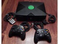 Original Xbox M.O.D.D.E.D with thousands of games