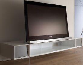 Alphason Yatai White Tv stand