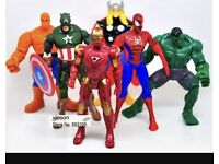 Wanted superhero marvel action figures