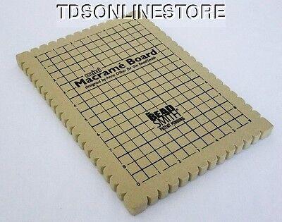 Beadsmith Macrame Board 7.5 x 10.5 Inch