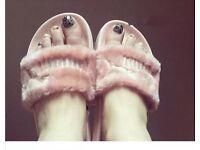 Pink Fenty puma slippers Size 5
