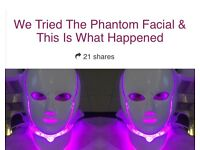 Attention beauty therapists new LED Phantom facial (funding available)