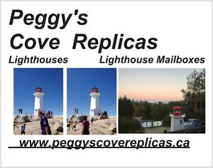 Peggy's Cove Lighthouse Replica 6.5 or different sizes