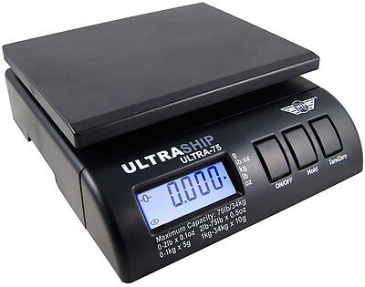 Digitalwaage Myweigh Ultra75 Ultraship Waage Digital Paketwaage Briefwaage 34kg