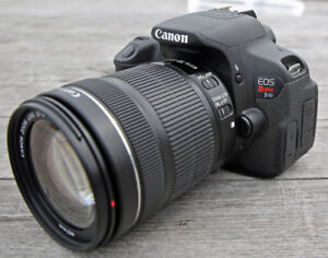 Canon T4i - 18-135 mm EF-s