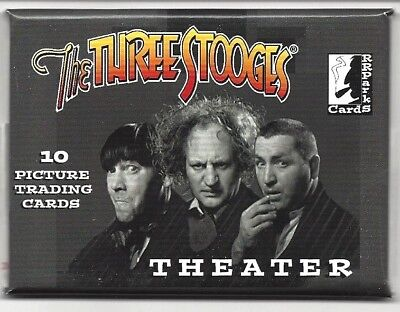 THREE STOOGES  THEATER CARDS 2017  1 SEALED PACK OF 10 CARDS (Three Stooges 2017)