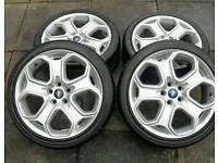 18 inch genuine Ford Focus ST alloys pcd 5x108