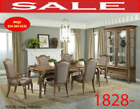 Model 1828-92 9pc, dining set