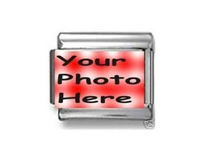 Italian Charms CUSTOM MADE PHOTO CHARM 9mm