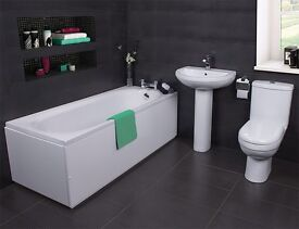 Basic bathroom supplied and fitted from £595