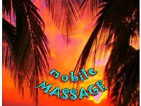 MOBILE SERVICE - BODY MASSAGE in the comfort of your home.