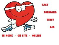 Are you looking for work?  Do you need your First Aid?  We can h
