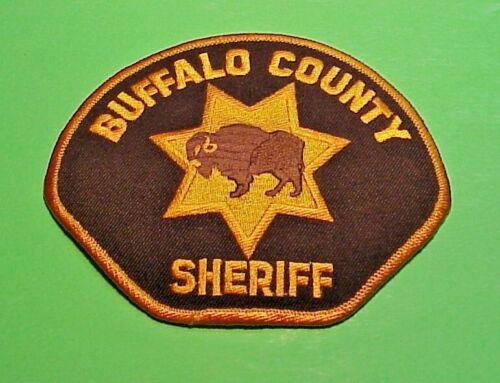"""BUFFALO COUNTY  NEBRASKA ( BUFFALO ) SHERIFF 4"""" x 5"""" POLICE PATCH  FREE SHIPPING"""