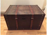Vintage Trunk / Chest / Coffee Table / Storage
