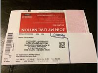 Ticket for sold-out LCD Soundsystem show in Manchester June 6th - only show in North of England