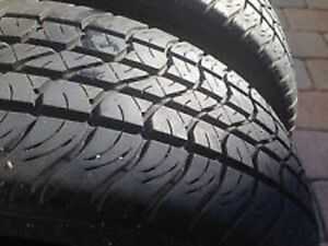 195/75R14 Set of 2 Goodyear Used Free Inst.&Bal.75%Tread Left