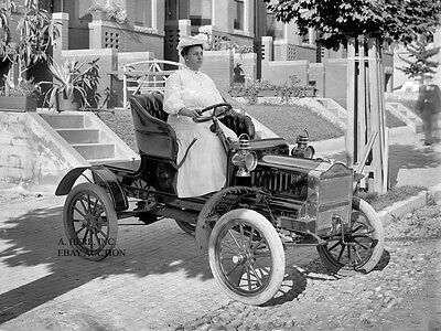 Maxwell Tourabout 1908 Automobile Fiat Chrysler Car Photo Photograph