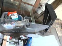 fish tank & all accessories: 2 pumps gravel wood for tank