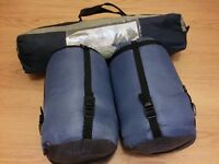 Tent for two + two sleeping bags for sale in Glasgow!