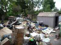 Junk removal from your residence or work site